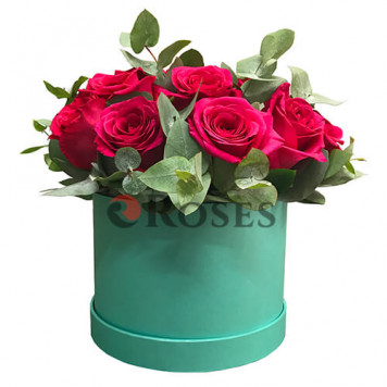 "Flowers in a box ""Saragosa"""