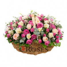 "Basket ""Floral Masterpiece"""