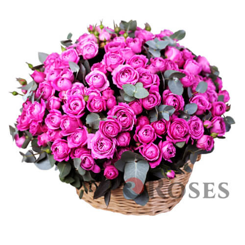 "Basket ""Pink pleasure"""