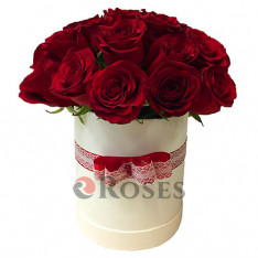 """Flowers in a box """"I love you"""""""