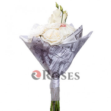 "Bouquet ""White night"""