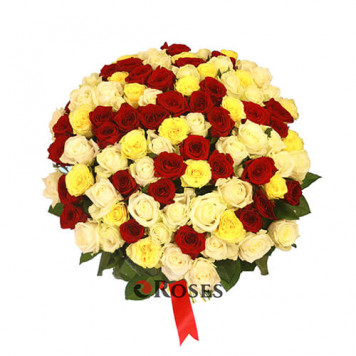 "Bouquet ""For You"" 101 roses"